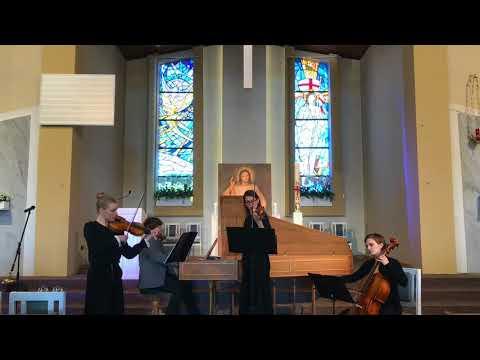 Arcangello Corelli - Trio Sonata no. 1, op.3  Grave, Allegro, Vivace, Allegro