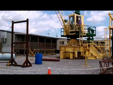 Sparrows Crane Operator Rigger Training APIRP2D Houma, La