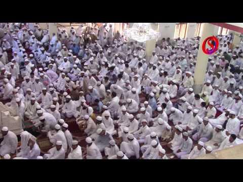 Moulana Abdul Aleem Khateeb Nadvi lead Eid Ul Azha prayer at Jamia masjid, Bhatkal.