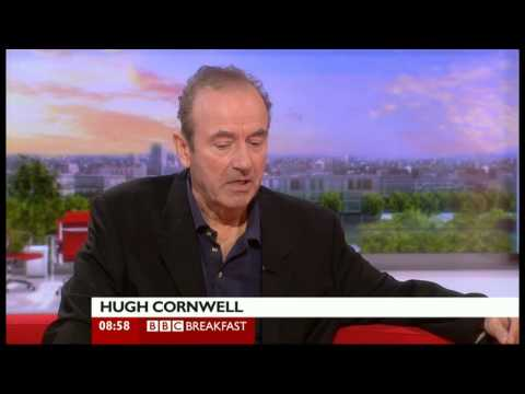 Hugh Cornwell on BBC Breakfast 120912