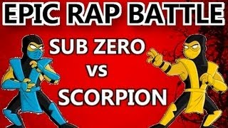 Sub-Zero vs Scorpion - EPIC RAP BATTLE