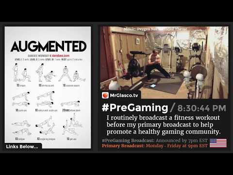 #PreGaming: DAREBEE Augmented Workout 💪