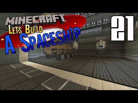 Minecraft :: Lets Build A Spaceship :: E21