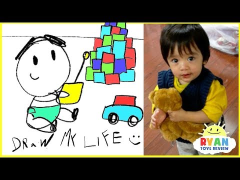 Thumbnail: Draw My Life - Ryan ToysReview animated family fun kids pretend playtime cartoon!