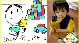 Draw My Life - Ryan ToysReview animated kids cartoon