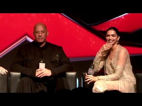 Vin Diesel Live For Xxx3 promotion In Mumbai.