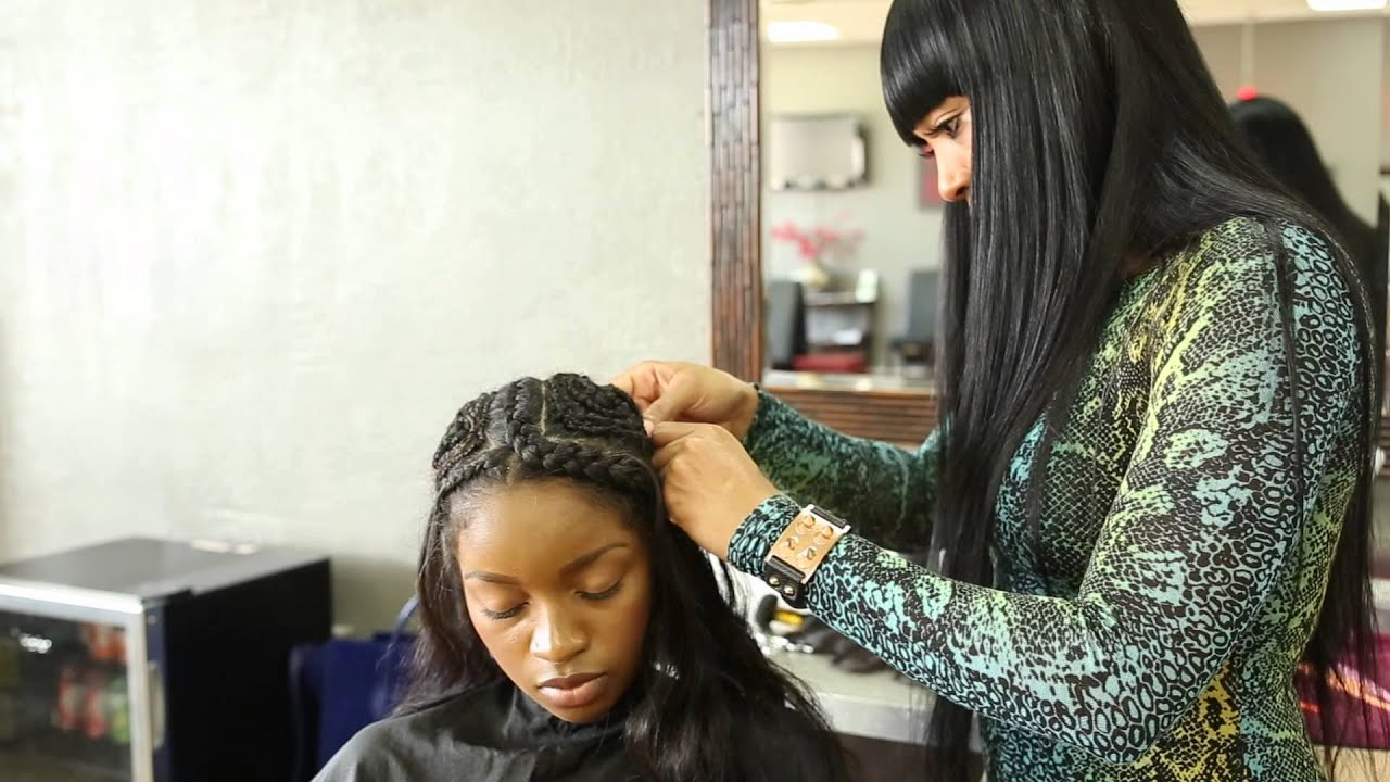 Vixen Sew In Tutorial Youtube