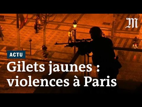 « Gilets jaunes » : violences au cœur de Paris