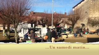 Châteauponsac Haute-Vienne Limousin, Marché, un samedi matin...