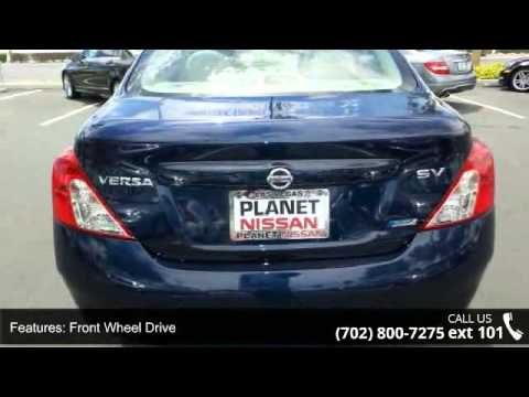 2012 nissan versa s planet nissan las vegas nv 89149 youtube. Black Bedroom Furniture Sets. Home Design Ideas