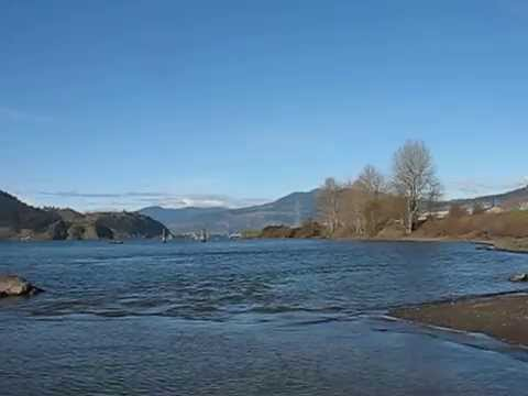 Columbia River from  Port Marina Park, Bigen WA