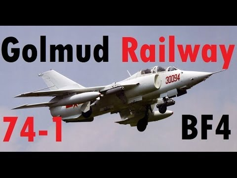 BF4 Attack Jet Gameplay (74-1) | Golmud Railway: Q-5 | Conquest Large HD - High Graphics