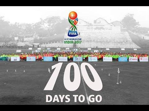 Days To Go For Fifa U  World Cup India  Footballtakesover