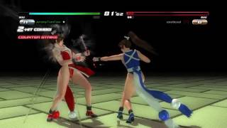 DOA5LR Mai Shiranui Mirror Match