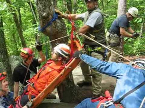Cave rescue high angle systems