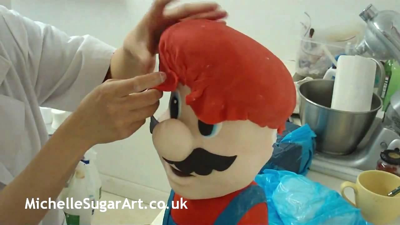 Mario Cake Making