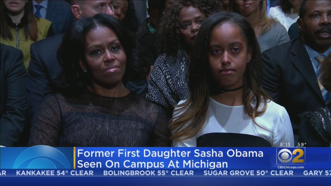 Sasha Obama reportedly attending University of Michigan