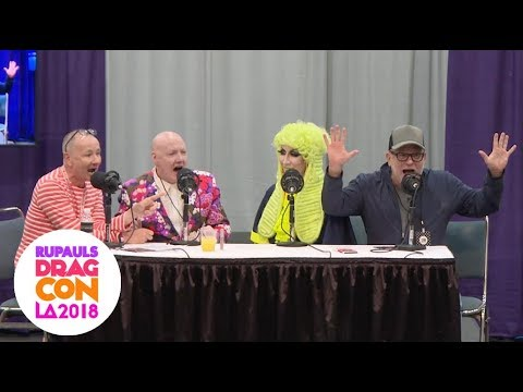 Trinity! Art & Pan Pan! Alexis! Morgan! Detox! From DragCon LA! The WOW Report for Radio Andy!