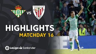 Highlights Real Betis vs Athletic Club (3-2)