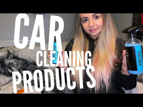 WHAT CLEANING PRODUCTS I USE FOR MY WRAPPED CAR