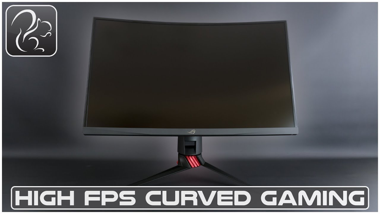 High FPS Curved Gaming - ASUS XG27VQ Monitor (Sponsored)