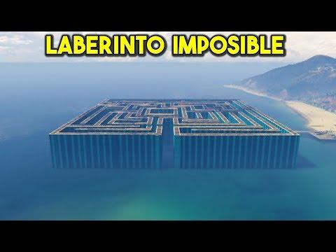 LABERINTO 99999% IMPOSIBLE! ME RINDO!! - CARRERA GTA V ONLINE - GTA 5 ONLINE