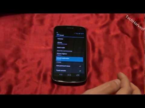 Samsung Galaxy Nexus: Stock Ringtones & Sounds