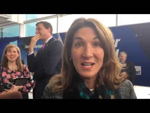 Lt. Gov. Karyn Polito talks about new flights from Worcester to New York