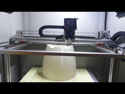 Shenzhen MINGDA MD-4C large printing size 300*200*200mm good 3d printer machine
