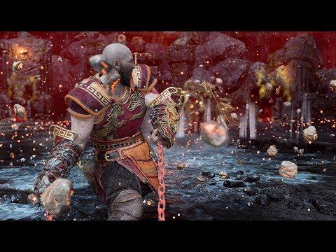 God of War - New Ares Armor Build - SIGRUN in 5min - No DmG GMGOW
