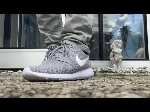 buy popular 068cf 911fd Nike Roshe One Wolf Grey ON FEET  streetwear