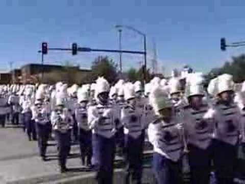 Hutch High Marching Band: Marching Down Main Street