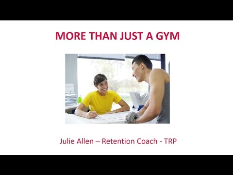 More Than Just a Gym - Creating a Member Experience Culture