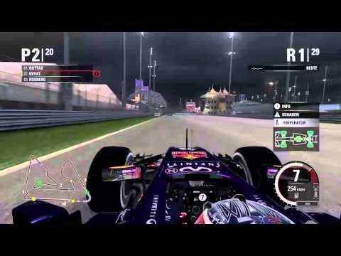 PS4-Live-Übertragung von Phoenix-BVB F1 2015 Meisterschaftsssaison - R4 Bahrain