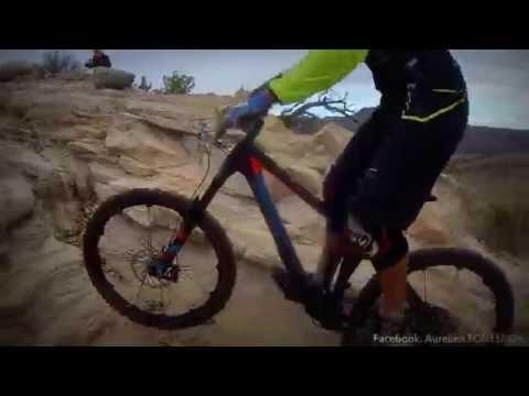 FRUITA, Colorado Mountainbike Trail - Up & Down !!!