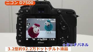 ニコン D7500 デジタル一眼レフ(カメラのキタムラ動画_Nikon)