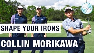 COLLIN MORIKAWA - How I Shape My Irons | ME AND MY GOLF