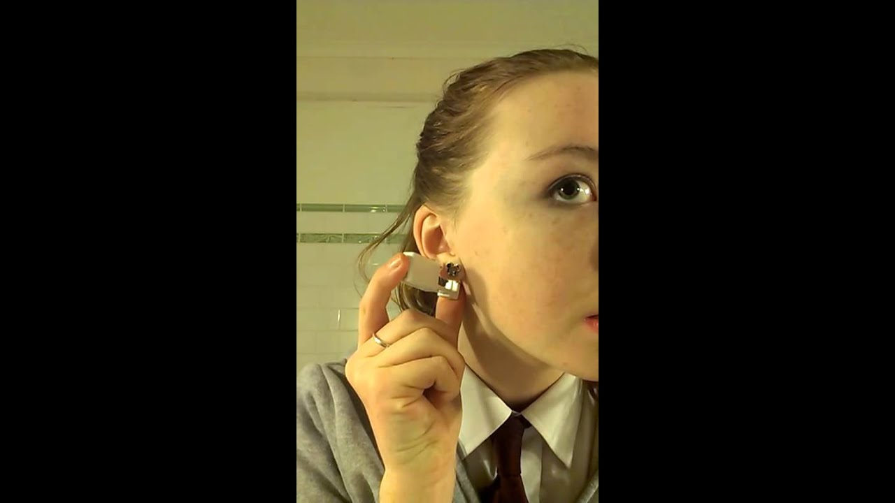 Quick Easy Pain Free Home Ear Piercing Youtube