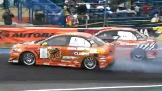 Lancer Evo 10 vs. Evo 9 Drift (Watch in HQ)