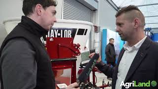 阿格利兰在FTMTA农机展(2019年)上发现了这种微型桶式给料机。