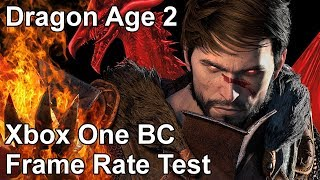 Dragon Age 2 Xbox One X vs Xbox One vs Xbox 360 Backwards Compatibility Frame Rate Comparison
