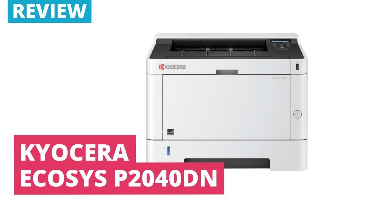 Printerland Review: Kyocera ECOSYS P2040dn A4 Mono Laser Printer