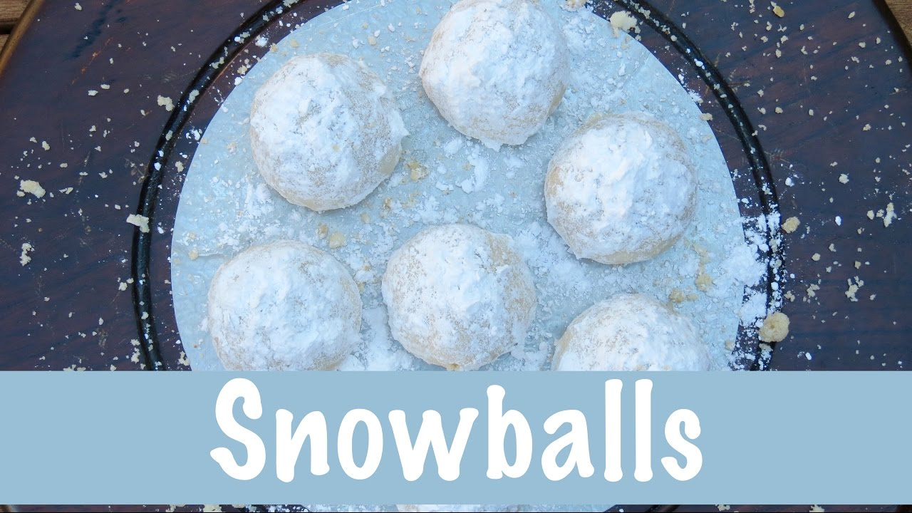 Snowball Cookies | Christmas Cookies | The Frugal Chef - YouTube
