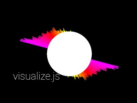 Real-Time HTML5 Music Visualizer - 2