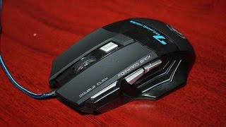 Разбор мыши estone X7 [70 gaming mouse]. How to disassemble a mouse estone x7.