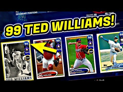 AMAZING FIRST ROUND!! 99 TED WILLIAMS! MLB THE SHOW 17 BATTLE ROYALE