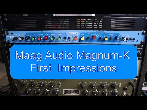 Maag Magnum-K compressor first impressions