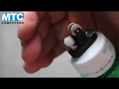 Make lighter with plastic bottle