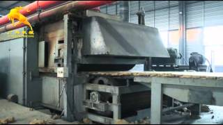 Rockwool board production line / Mineral wool Production line