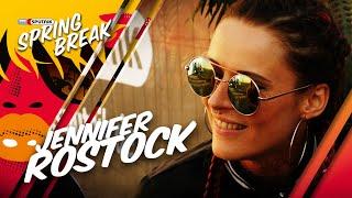 Jennifer Rostock über Nachrichten vom Ex & neue Songs @ SPUTNIK SPRING BREAK FESTIVAL 2016 SBB